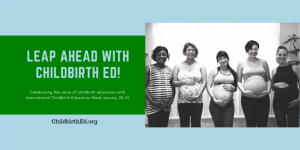 Leap ahead with childbirth education