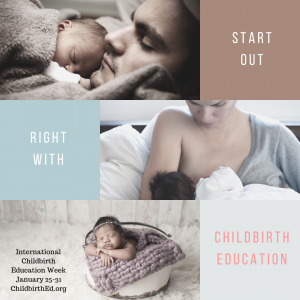 start out right with childbirth education