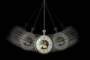 Swinging pocket watch hypnosis