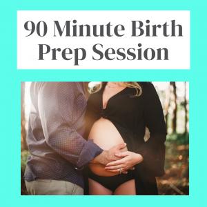 Private 90-Minute Birth Prep Session